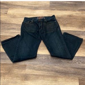 New without tags Levi 527 dark wash jeans